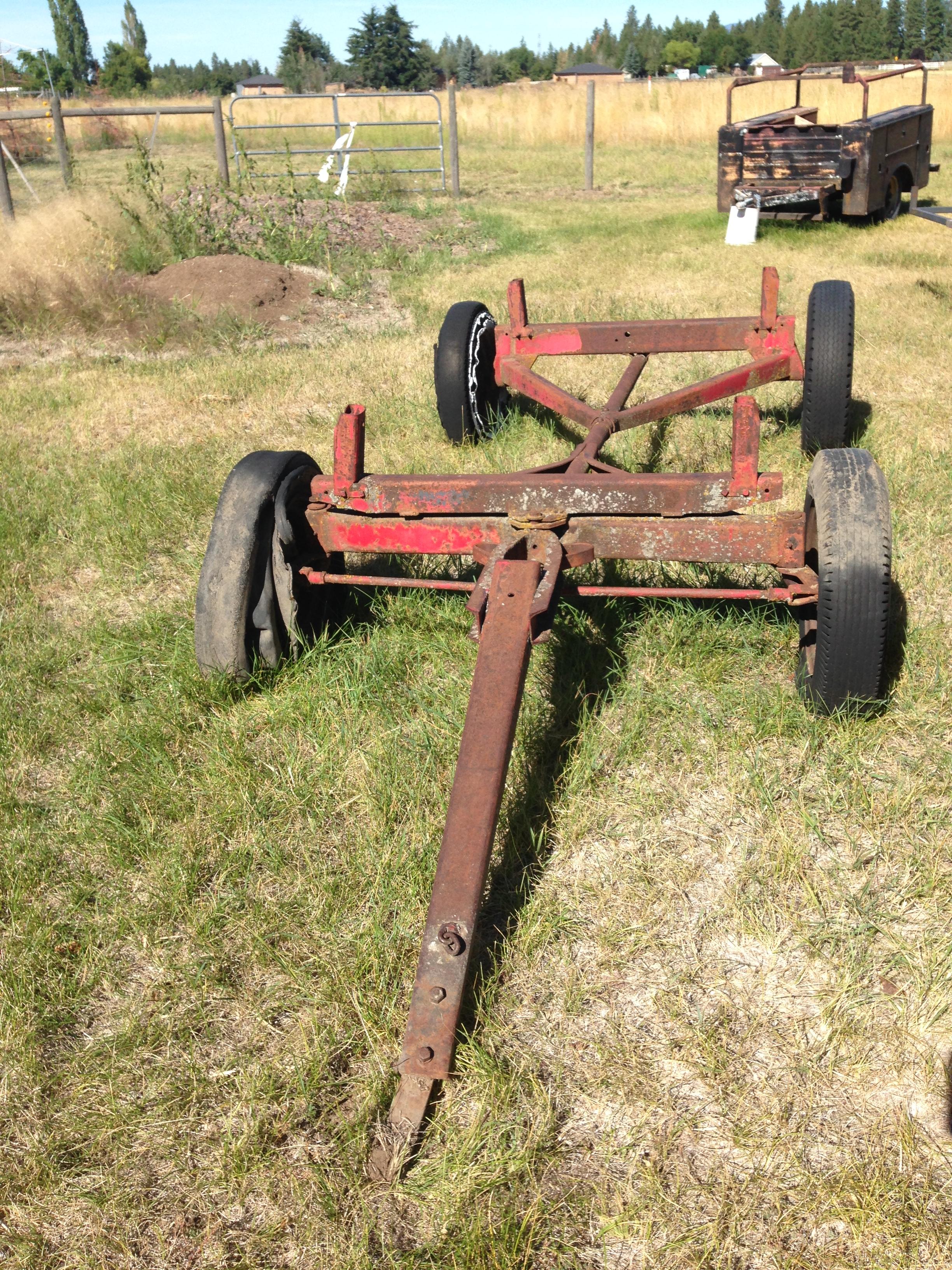 Wagon Running Gear